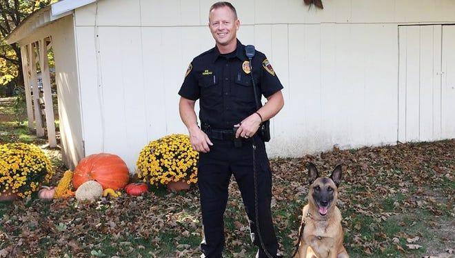 Terra is adapting well to civilian life, said her former police handler, Jeff Ferneau.