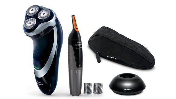 A full set for all your facial hair needs.