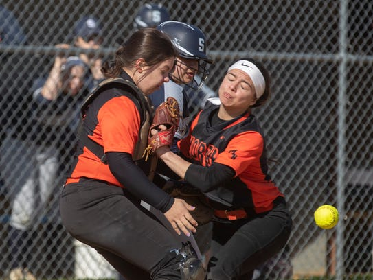 Middletown South's Jillian Bigos is called out for