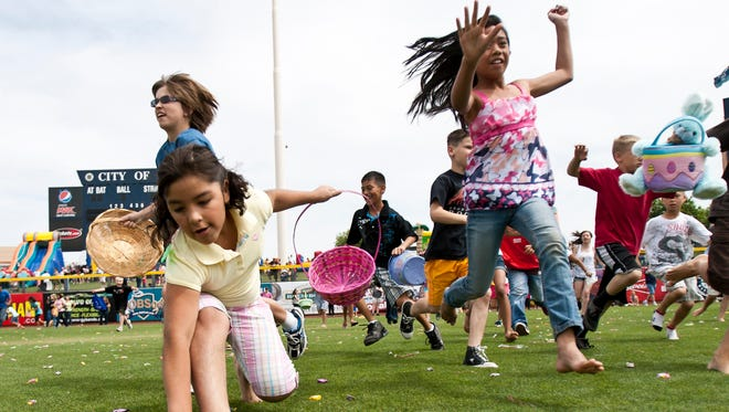 Dolly Sanchez Memorial Easter Egg Hunt in Peoria.