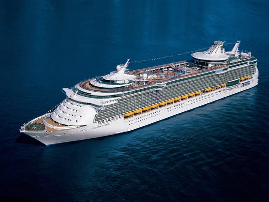 Royal Caribbean's Freedom of the Seas.