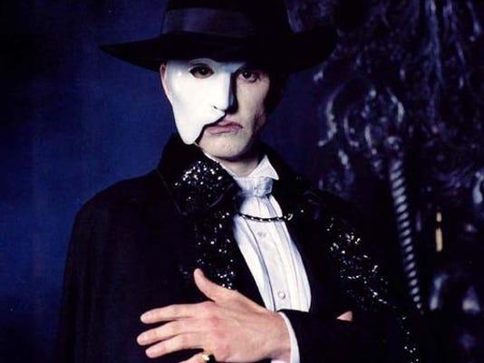 Davis Gaines as Phantom art