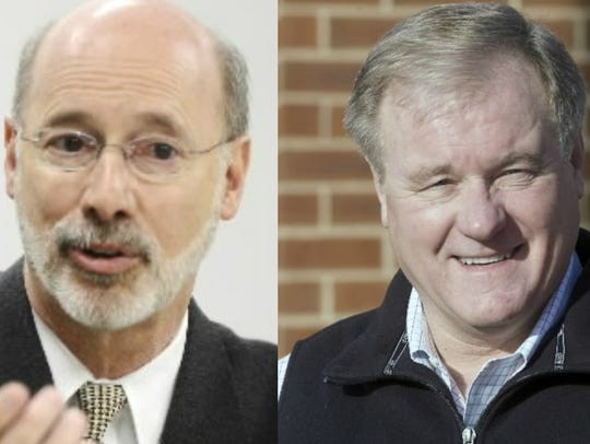 How about a budget debate in York between Gov. Tom