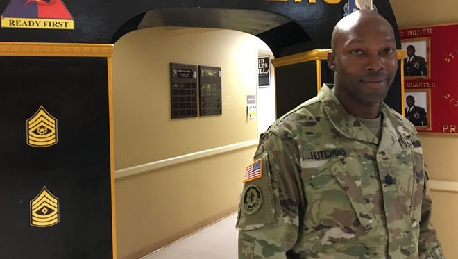 "Lt. Col. Micah R. Hutchins is the new commander of the 501st Brigade Support Battalion with 1st Brigade. Hutchins wants to emphasize his unit being ""ready now."""