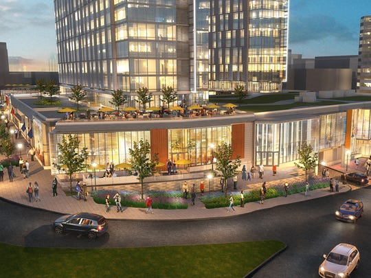 Architectural renderings of the  proposed $275 million