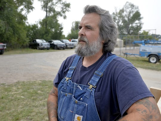 Tony Hudson owns a cabin being threatened by the Alice Creek Fire burning south of Augusta.  He checked in with the fire camp in Augusta to see if there was any new information on the fire activity.