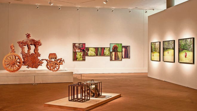 Original works by Pablo Picasso and Rembrandt can be viewed at the Grinnell College of Museum of Art.