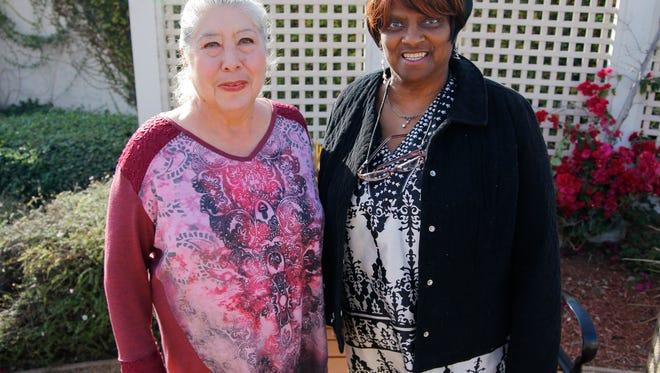 Rosa Padilla and Carter Gray, both residents of Sherwood Village in North Salinas, live car-free.