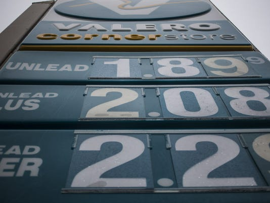 AP GAS PRICES A USA TX