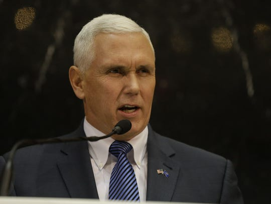 Indiana Gov. Mike Pence delivers his State of the State