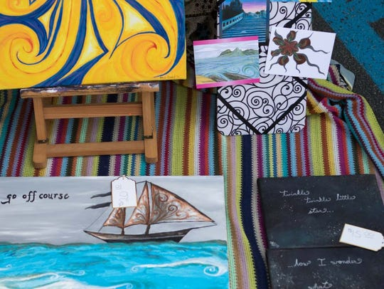 The monthly Downtown Art Walk received a boost in creativity