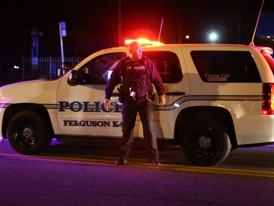 AP FERGUSON PROTEST A USA MO