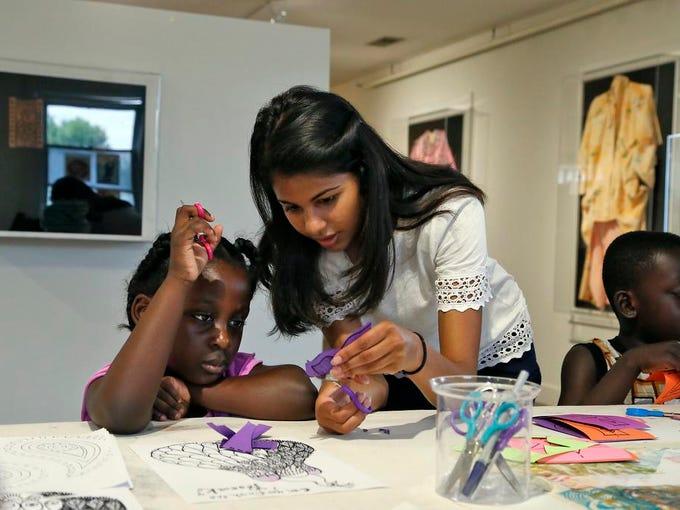 Asia Institute Crane House museum volunteer Shivani