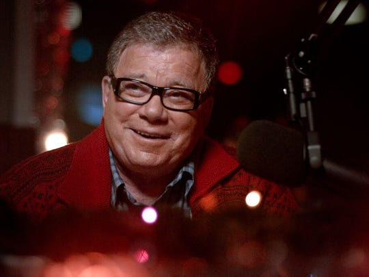 """William Shatner in """"A Christmas Horror Story."""""""