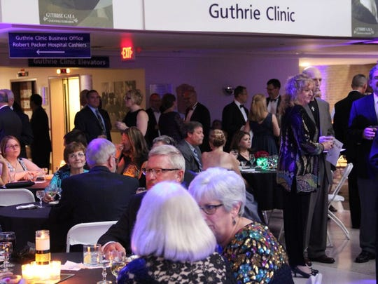 The Guthrie Gala was held Saturday night in the Guthrie Atrium.