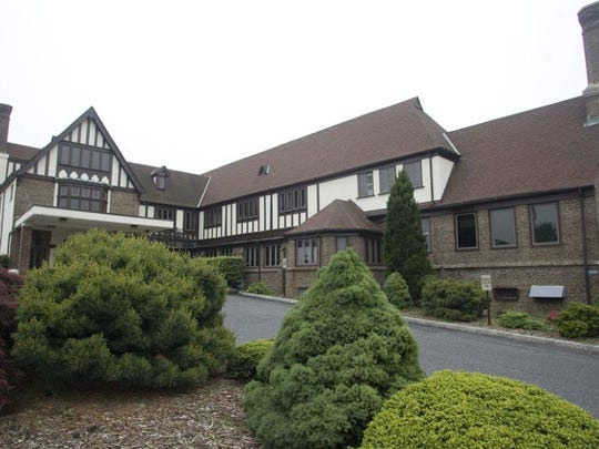 Gibbs Hall, located on Fort Monmouth is up for sale.