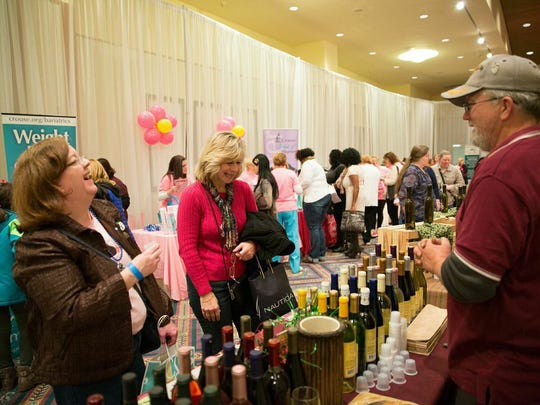 A past La Femme expo—created to let guests take their time and enjoy themselves