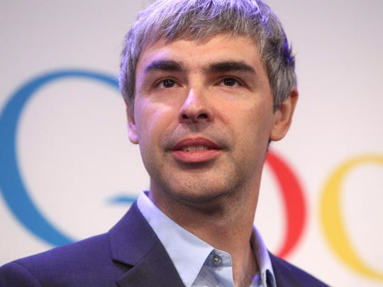 Alphabet CEO Larry Page is stepping down.