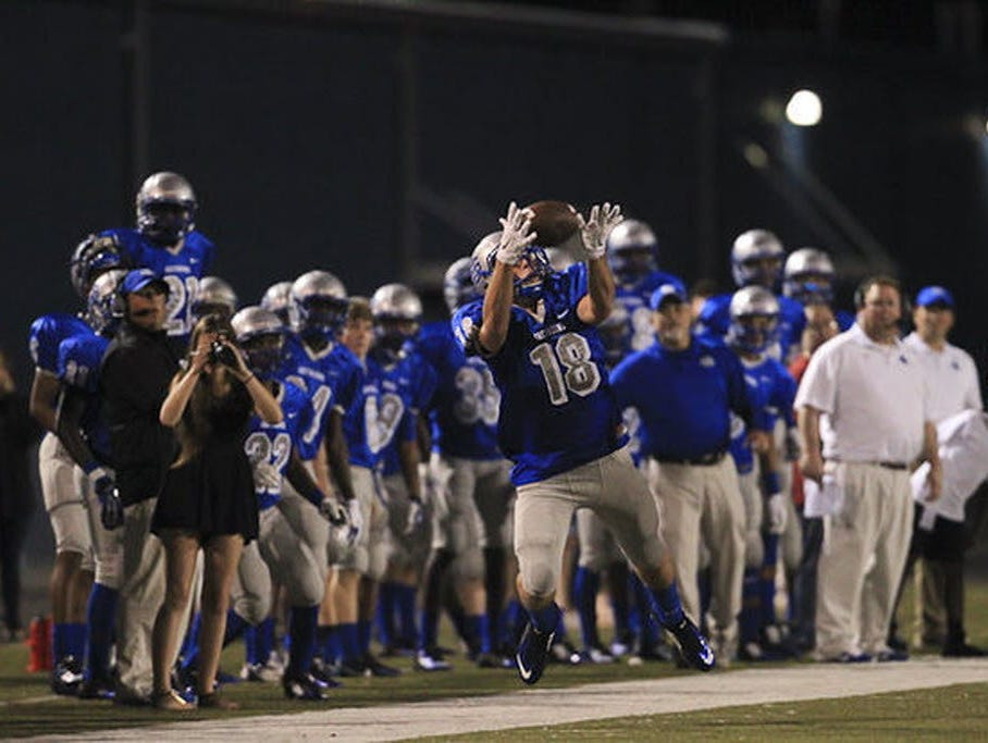 Ocean Springs WR Austin Williams is quietly putting together one of the top performances of the season at his position.