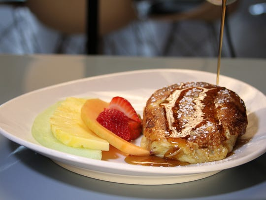 Skylark Diner's stuffed French toast is a twist on