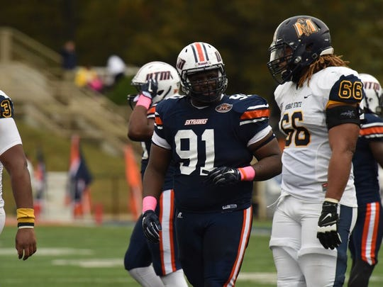 UT Martin junior Damani Taylor was named to the all-OVC second team and all-OVC newcomer team.