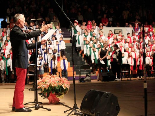 Christmas Sing choirs