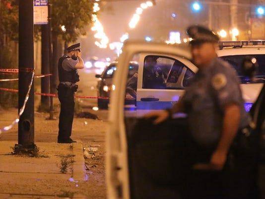 AP POLICE RISING VIOLENCE A FILE USA IL