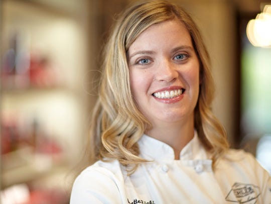 Kohler's Head Chocolatier, Anette Righi DeFendi, has