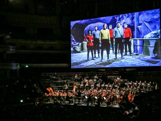 """""""Star Trek: The Ultimate Voyage"""" is a 50th anniversary concert tour that celebrates the influential sci-fi franchise. Stops include March 5 at New York City's Madison Square Garden."""