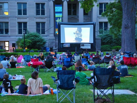 The Summer of the Arts Free Movie Series is hosted