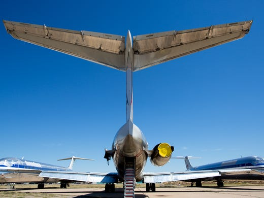 The 'boneyard': Where airlines send old planes to be scrapped