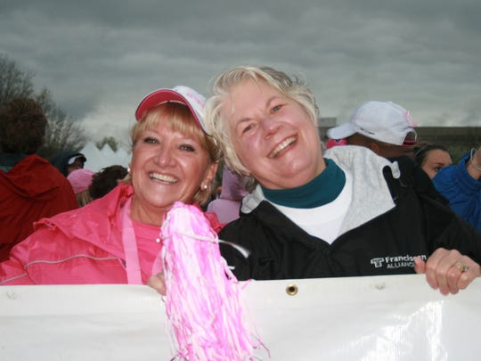 Pam Miltner and Michele Wood