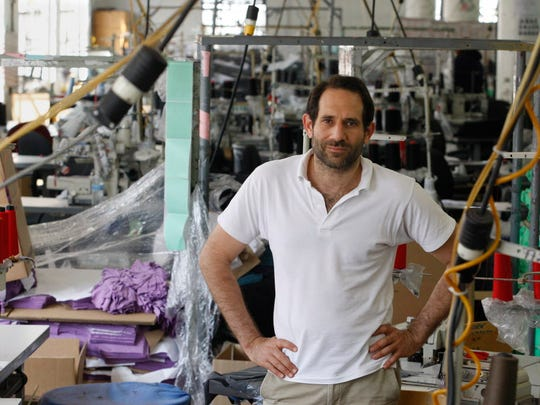 Dov Charney, former CEO of American Apparel.