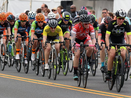 Tour of Somerville men's race on Main Street on May 30, 2016.