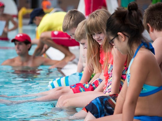 River Run Family Waterpark in New Albany, Indiana, hosted it's first World's Largest Swimming Lesson event on Friday, June 24.