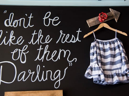 "A Darling State of Mind is a new ""rustic"" clothing and home goods store located at Westport Village."