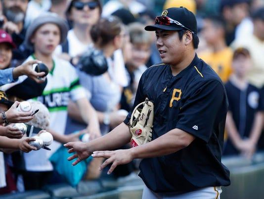 USP MLB: PITTSBURGH PIRATES AT SEATTLE MARINERS S BBA USA WA