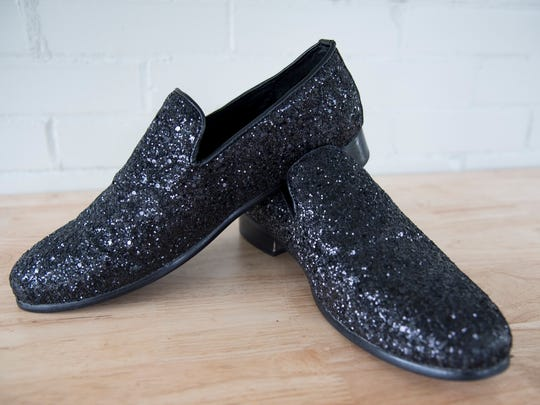 These are the shoes that Jonathon Raley wore to his wedding, and are one of Raley's favorite things.