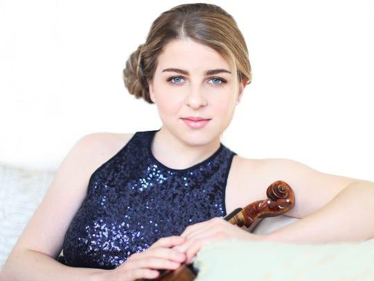 Caroline Goulding, violinist