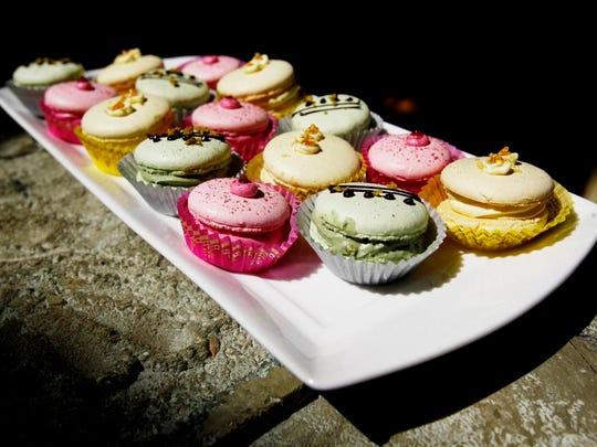 French macarons at Karen Donatelli Bakery in downtown Asheville.