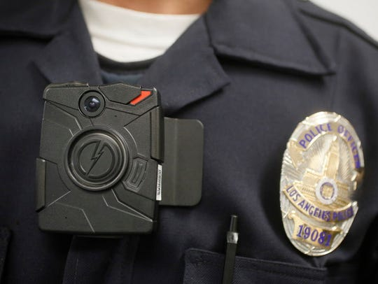 A police officer wears a body camera in this file photo.