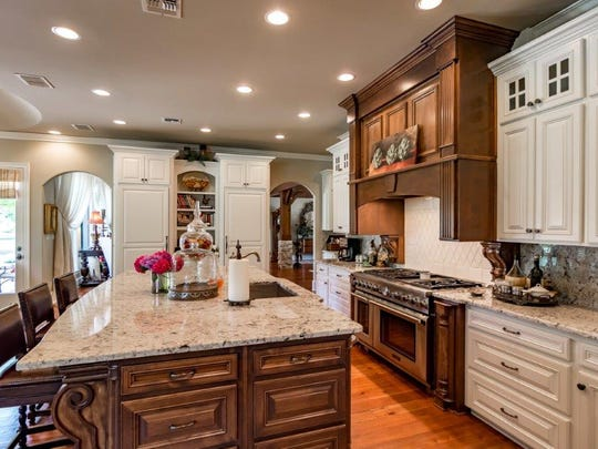 The kitchen at 9942 Pecan Place.