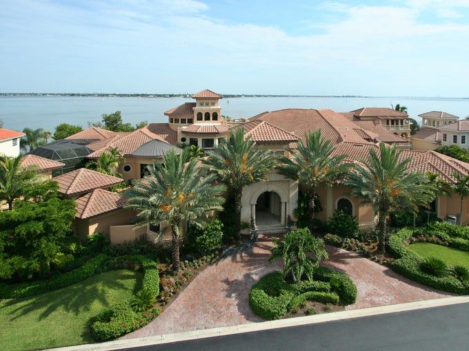 Richard Neslund's home in Gulf Harbour Yacht & County