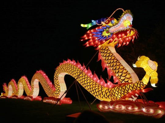 Time is running out to see China Lights.