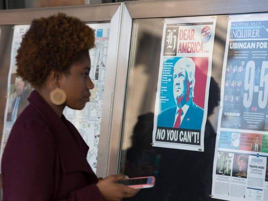 EPA USA ELECTION AFTERMATH POL ELECTIONS USA DC
