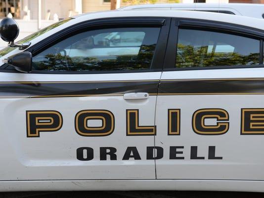 Oradell Police car