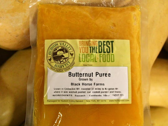 Hudson Valley Harvest's Butternut Puree is ready to heat and serve.