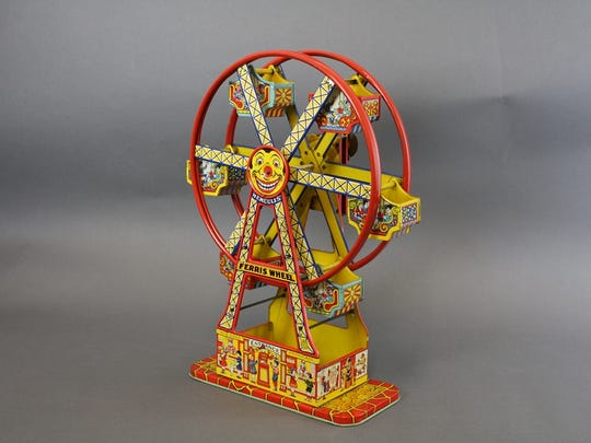 One of these tin plated Hercules Ferris wheels made