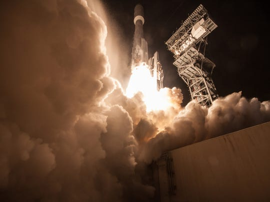 GOES-R lifted off at 6:42 p.m. EST on November 19,