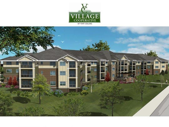 Village Cooperative Fort Collins, above, will offer seniors aged 62-plus a shared living experience. Volunteers of America has proposed 55 units off Drake Road and Joseph Allen Drive. Village Cooperative is market rate units while VOA's project will cater to lower-income seniors.